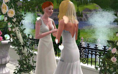初めての結婚式。