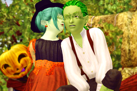 [DL]Halloween2019-2020 PosePack
