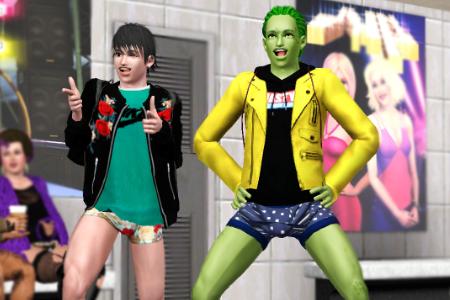 No Pants Subway Ride The Sims3