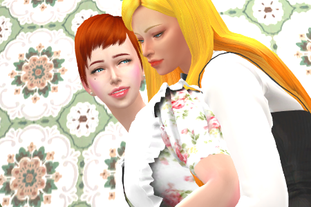 My TS3 OC's TS4 Version Then & Now!!!
